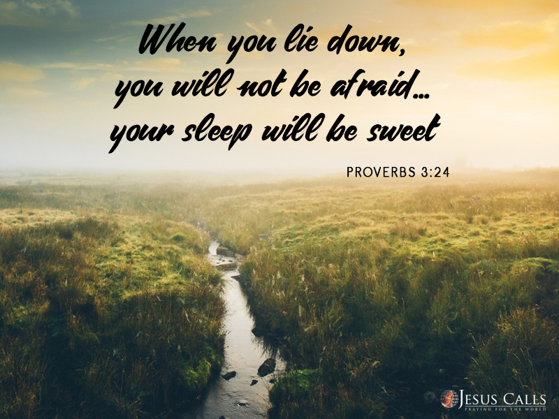 Today's Promise 10-07-2017 Proverbs 3:24