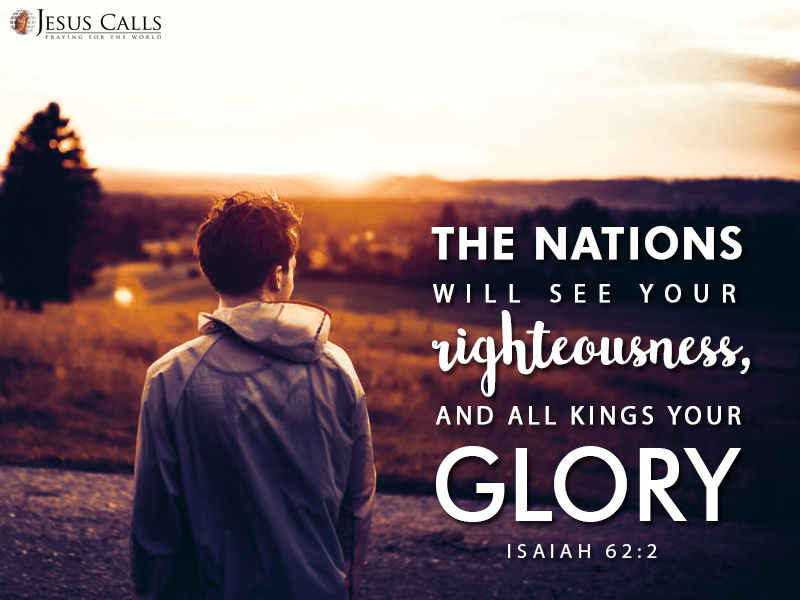 Today's Promise 27-07-2017 Isaiah 62:2