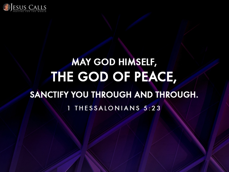 Today's Promise 06-08-2017 I Thessalonians 5:23