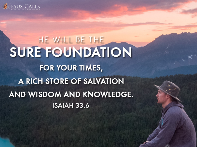 Today's Promise 07-08-2017 Isaiah 33:06