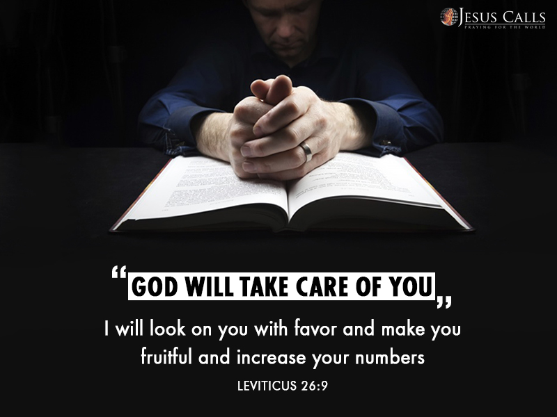 Today's Promise 27-08-2017 Leviticus 26:9